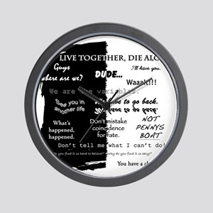 best lines lost text only Wall Clock