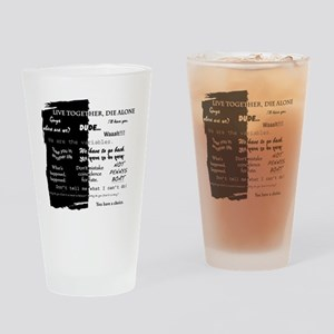 best lines lost text only Drinking Glass