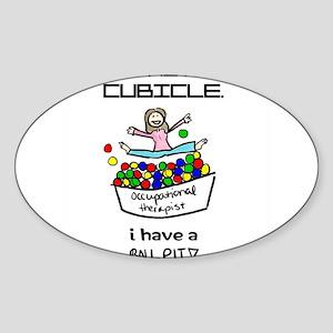 I Have a Ball Pit-- OT Sticker