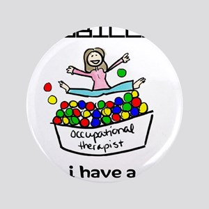 "I Have a Ball Pit-- OT 3.5"" Button"