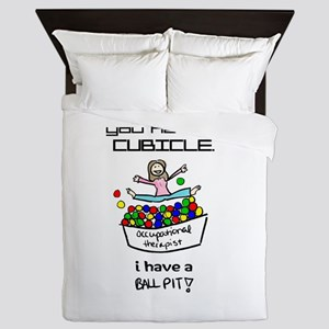 I Have a Ball Pit-- OT Queen Duvet