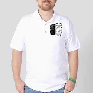 best lines lost text and pictures copy Golf Shirt