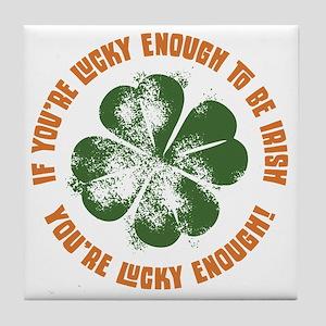 lucky-enough-LTT Tile Coaster