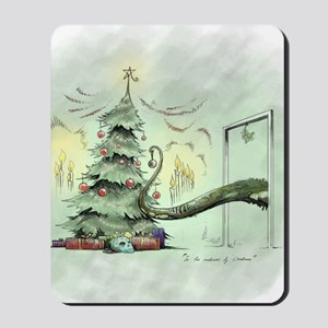 In the Madness of Christmas Mousepad