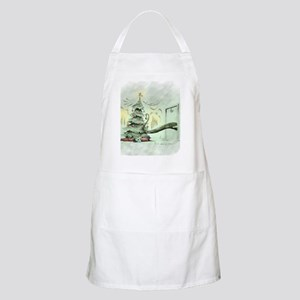 In the Madness of Christmas Apron