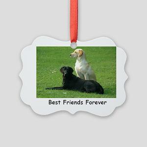 dogs Picture Ornament