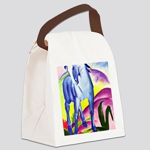 Franz Marc - Blue Horse I Canvas Lunch Bag