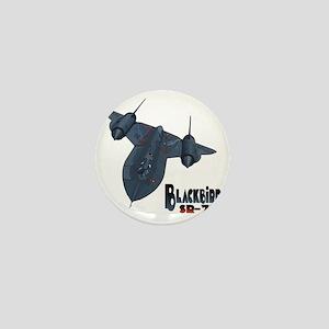 Blackbird-10 Mini Button