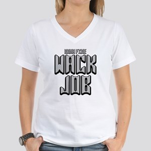 2-WACK JOB -BONA Women's V-Neck T-Shirt