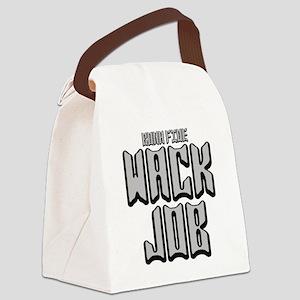 2-WACK JOB -BONA Canvas Lunch Bag