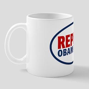 repeal2_5x3oval_sticker Mug
