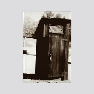 outhouse-watermarked Rectangle Magnet