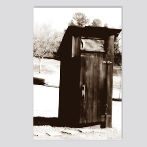 outhouse-watermarked Postcards (Package of 8)