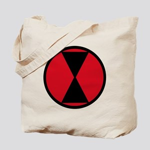 7th Infantry Division Tote Bag