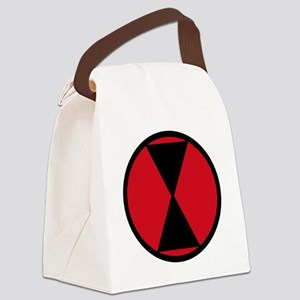 7th Infantry Division Canvas Lunch Bag