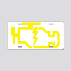 CHECKENGINE Aluminum License Plate