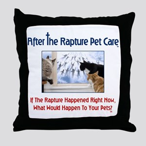 ARPC Cats Window Question Throw Pillow