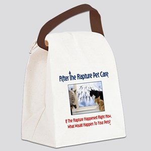 ARPC Cats Window Question Canvas Lunch Bag