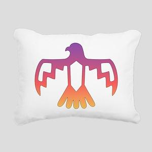 thunderbirdSunset Rectangular Canvas Pillow