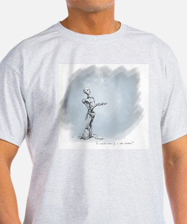 Do androids dream of a white christm T-Shirt