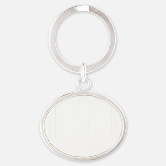 Democracy Oval Keychain