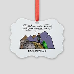 roundMtC Picture Ornament