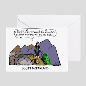 roundMtC Greeting Card
