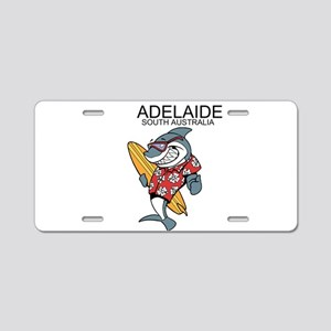 Adelaide, South Australia Aluminum License Plate
