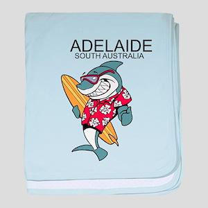 Adelaide, South Australia baby blanket