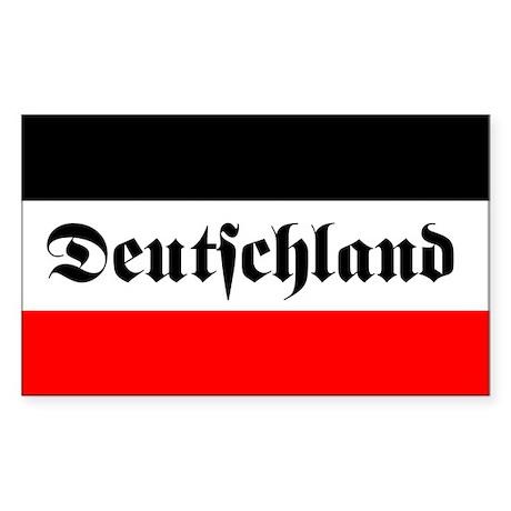 German imperial flag car decal