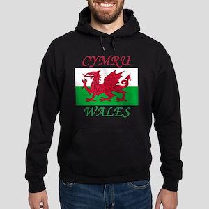 Wales-Cymru Hoodie (dark)