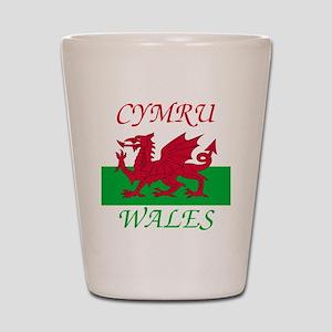 Wales-Cymru Shot Glass