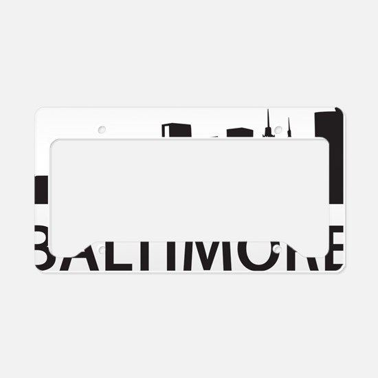 baltimore1 License Plate Holder