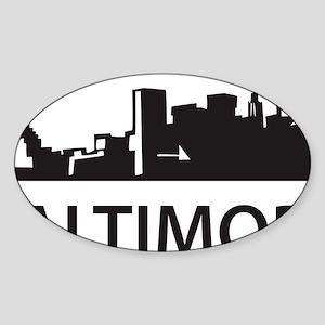 baltimore1 Sticker (Oval)