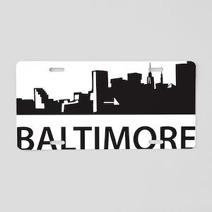 baltimore1 Aluminum License Plate