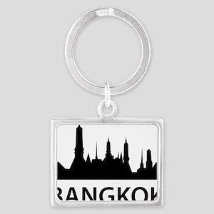 bangkok1 Landscape Keychain