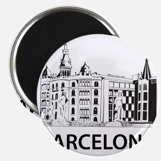 2-Barcelona1 Magnet