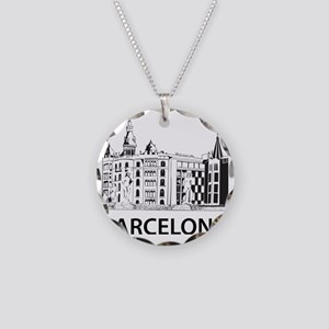 2-Barcelona1 Necklace Circle Charm