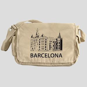 2-Barcelona1 Messenger Bag