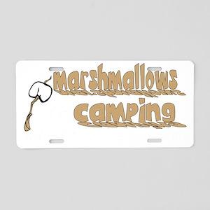 marshamllow2 Aluminum License Plate