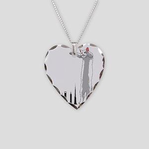 longcat Necklace Heart Charm