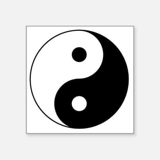 """Yin_Yang2 Square Sticker 3"""" x 3"""""""