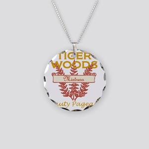 tiger-woods-mistress-beauty- Necklace Circle Charm