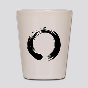 enso_blk Shot Glass