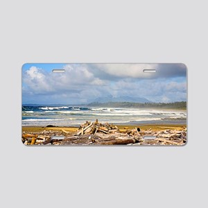 Vancouver Island Aluminum License Plate