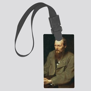 journal-dostoyevsky Large Luggage Tag