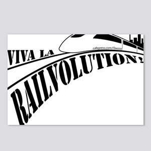 2-Railvolution Postcards (Package of 8)