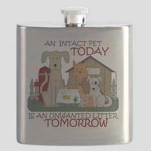 intact-tshirtsize Flask