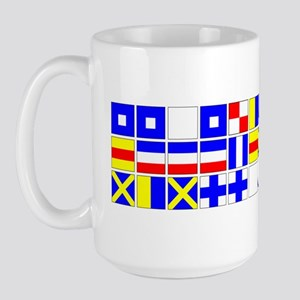 2000px-England_Expects_Signal_no text Large Mug