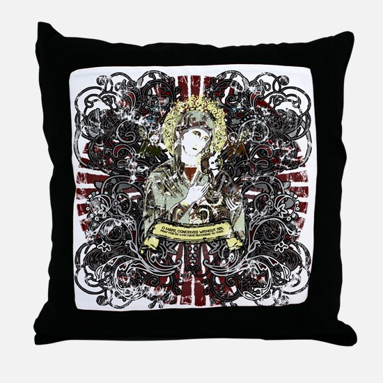 mary_our_lady-02 Throw Pillow